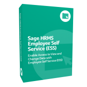 Sage H R M S Employee Self Service (E S S) product box