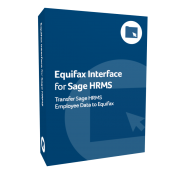 Equifax Interface for Sage H R M S product box