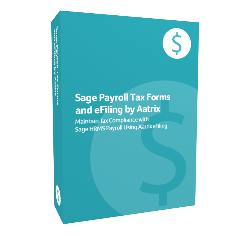 Sage Payroll Tax Forms and eFiling by Aatrix