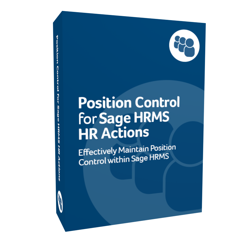Position Control for Sage H R M S H R Actions product box