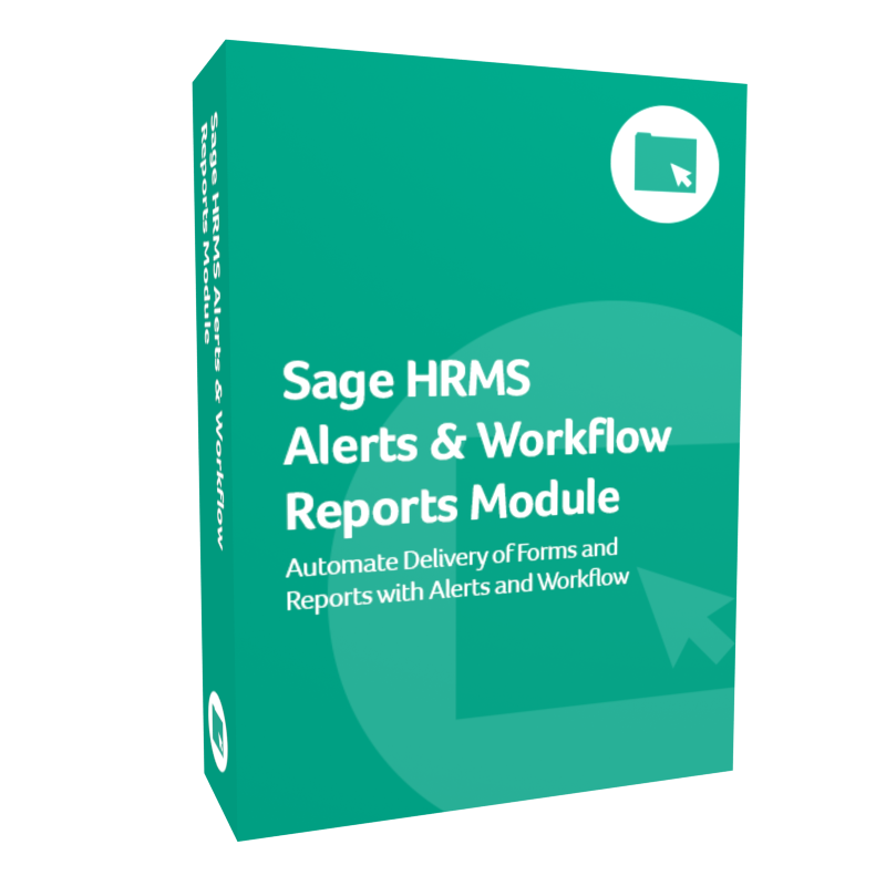 Sage HRMS Alerts and Workflow Reports Module