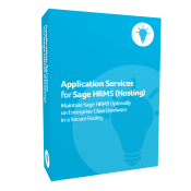 product box for Application Services for Sage H R M S (Hosting)