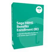 product box for Sage H R M S Benefits Enrollment (B E)