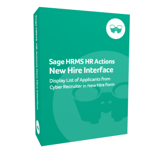 Sage HRMS HR Actions New Hire Interface
