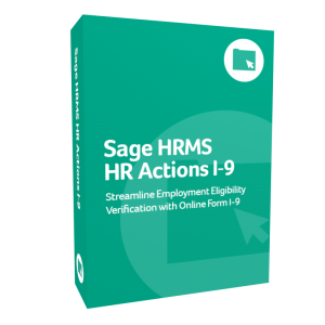 Sage HRMS HR Actions I-9