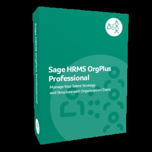 Sage HRMS OrgPlus Professional