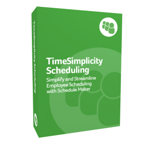 TimeSimplicity Scheduling