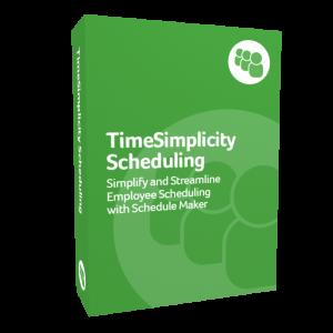 TimeSimplicity Scheduling