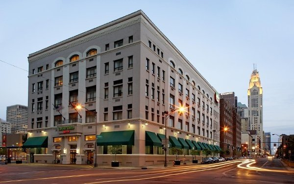 Courtyard By Marriott In Downtown Columbus Ohio