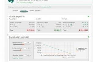My Workforce Analyzer Screenshot