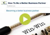 Better Business Partner Video Overlay