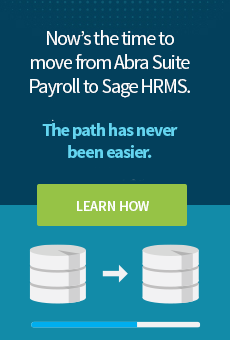 Sage HRMS Automated SQL Migration