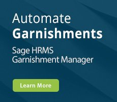 Sage HRMS Garnishment Manager