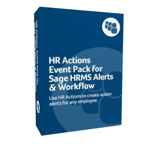 HR Actions Event Pack for Sage HRMS Alerts & Workflow