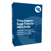 Time Import - Sage Time to Abra Suite