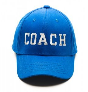 Blue baseball cap with